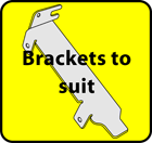 Brackets to suit