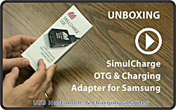 VIDEO: Unboxing the LAVA SimulCharge USB Host & Charging Adapter